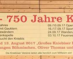 750 Jahre Kniebis