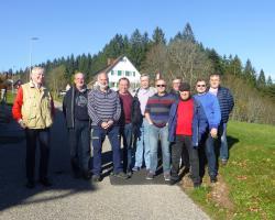 SKC Gießen Altherrengruppe auf dem Kniebis